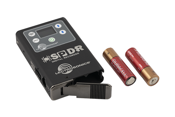 LECTROSONICS SPDR Enregistreur stereo Broadcast avec TimeCode, microSD, 2x AA